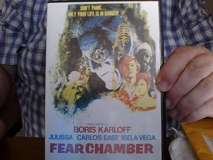 Fear Chamber (1968) w/Boris Karloff