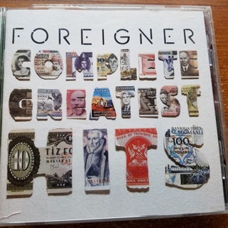 "Foreigner CD ""Complete Greatest Hits"""