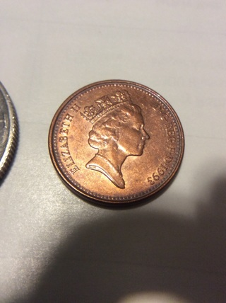 1993 Great Britain one penny coin