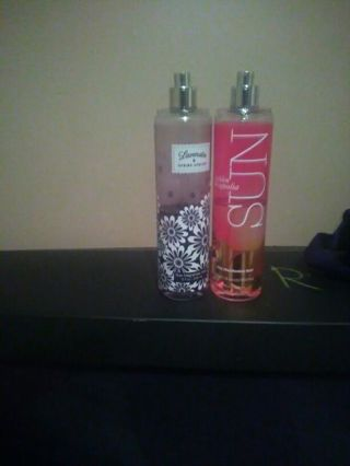 2 bath and body works perfumes