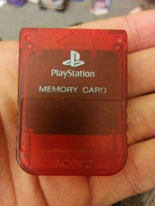 Ps1 memory card 95kb