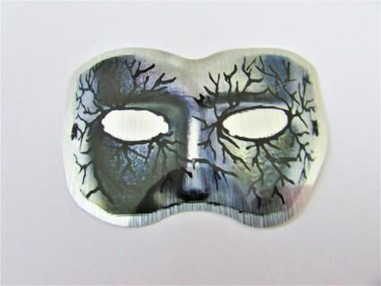 MASK- METAL FINISH Vinyl Sticker- Helmet/Car/Skateboard/Business/Crafts
