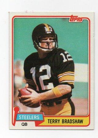 1981 Topps Terry Bradshaw