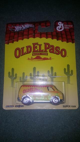 Hot Wheels Vehicle - Old El Paso Super Van
