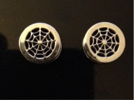 10mm 00g Stainless Spider Web Plugs New Lower Bid N Gin Free Sh