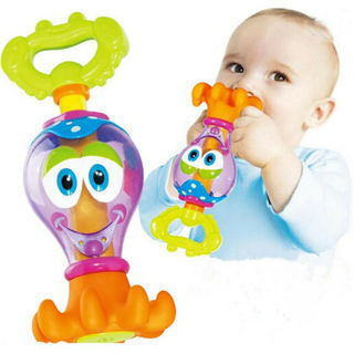 Kid Bath Time Toy Bathing Shower Octopus For Baby Boys Girls Water Play Toy Gift
