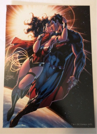 Wonder Woman / Superman Double-Sided Mini Poster