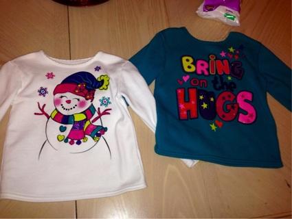 2  Sweatshirts size 5T
