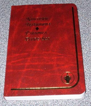 Virgin Mary Silver Medal/ Pendant + New Testament