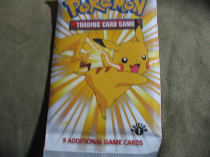 9 ADDITIONAL TCG POKEMON IN NEW SEALED PACK