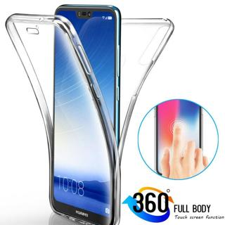 360° Full Body Clear Silicone Case Cover for Huawei Mate20 P20 Lite/P Smart 2019