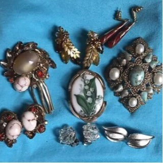 Assorted Vintage Jewelry-2 Trifari Pieces