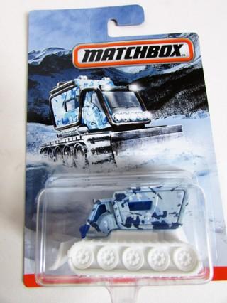 NEW!!! MATCHBOX CAMO SERIES BLIZZARD BUSTER BLUE