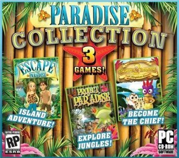 Pc Computer Game - Paradise Collection