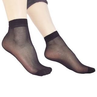 ✿Free Shipping✿  High Quality Women Velvet Socks Thin Silk Transparent x10Pair