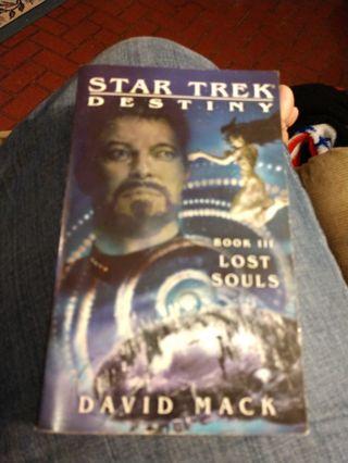 Lost Souls by David Mack (star trek, paperback)
