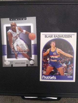 NBA #'d Vince Carter + Rasmussen