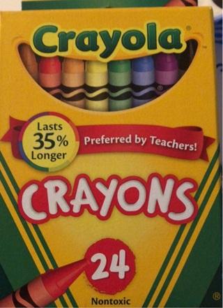 BNIB 24 CRAYOLA Crayon Boxes. Smooth, Bright Colors! Non Toxic. Projects Crafts School