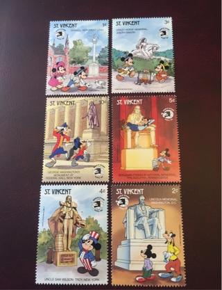 1989 St. Vincent #1256-61 mint set of 6