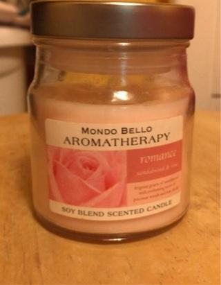 Mondo Bello Aromatherapy candle