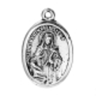 One of Choice Zinc Base Alloy Antique Silver Religious Pendants - See Desc for more Info - 25x16mm