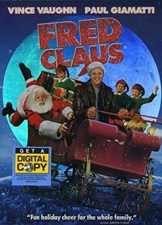 Fred Claus dvd