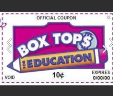 5 box tops for education