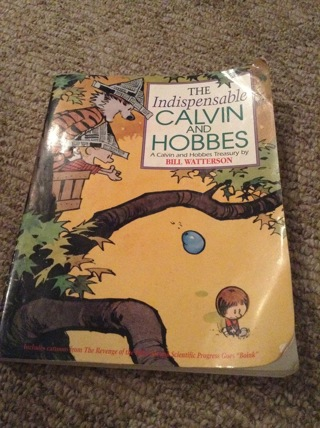 The indispensable Calvin and Hobbes book by Bill Watterson