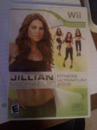 !!!Jillian Michaels Fitness Ultimatum Wii Game!!!