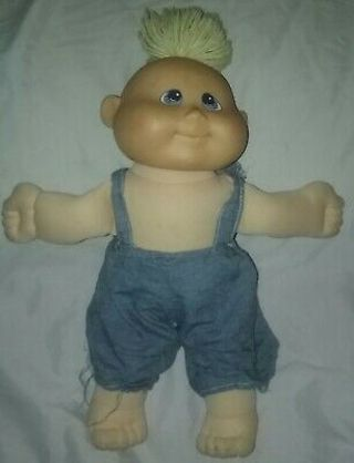Vintage 1994 Kuddle Love Boy  Doll