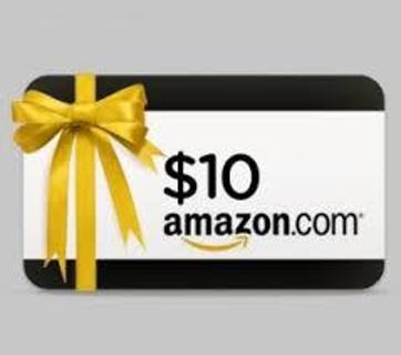 10 dollar amazon e card