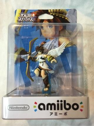 NEW Pit amiibo. Japan Import, Nintendo Figure. Super Smash Bros