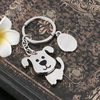 Creative Model Metal Puppy Key Chains Metal Versatile Dog Key Ring Animal Lovers