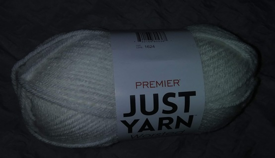 Premier Just Yarn Worsted-White