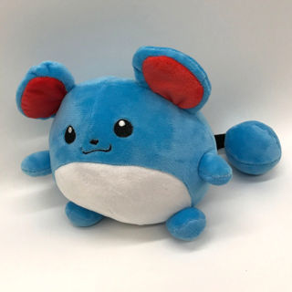 Marill New Pokemon Cute Soft Plush Doll Stuffed Toy Kids Gift