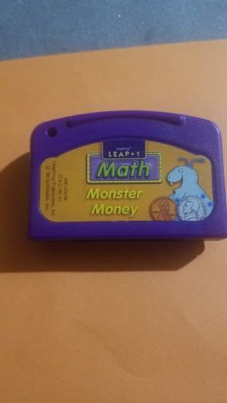 Leapfrog leapster mth monster money