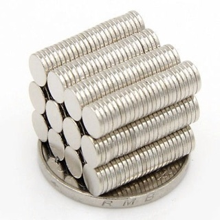100Pcs 5x1mm Neodymium Disc Super Strong Rare Earth N35 Small Fridge Magnets