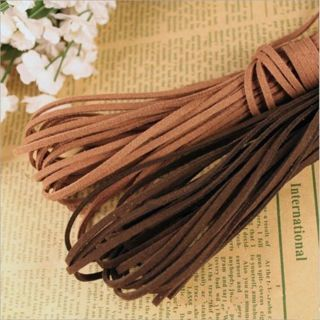 [GIN FOR FREE SHIPPING] Brown Hot Bracelet Making Thread Cords DIY Necklace Jewelry