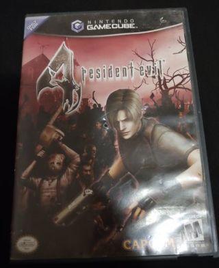 RESIDENT EVIL GameCube games