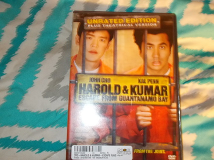 Harold & Kumar Escape From Guantanamo Bay DVD