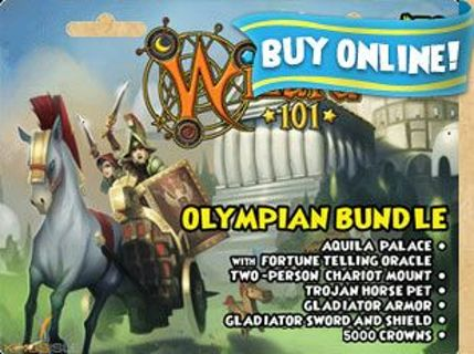 Free: Wizard101 Olympian bundle - Video Game Prepaid Cards & Codes