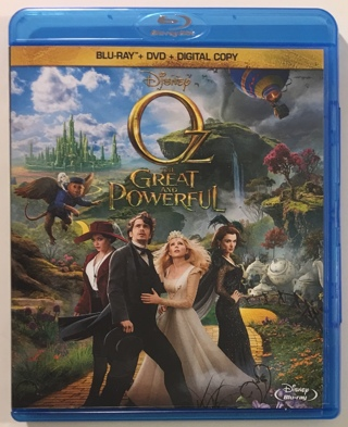 Disney Oz the Great and Powerful 2013 Blu-Ray / DVD Combo Movie - Mint Discs!