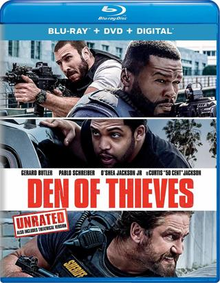 Den of Thieves (Digital HD Download Code Only) **Gerard Butler**