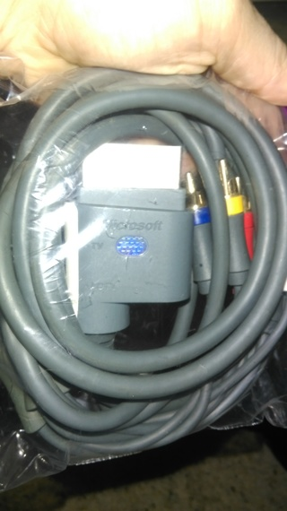 XBOX 360 HDTV A/V Component Video Cable