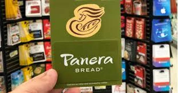 $3.00 PANERA BREAD eGIFT CARD