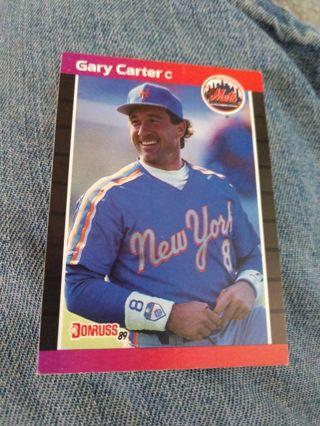Baseball Card - Gary Carter 1988