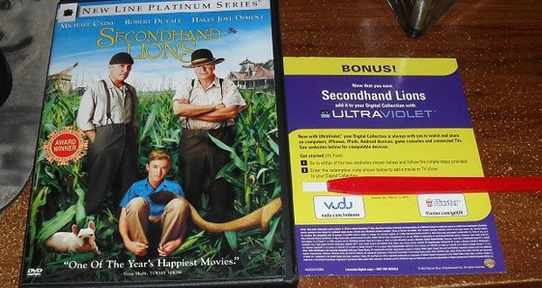 secondhand lions free