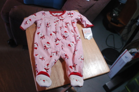 Super Cute 3 Mo. Christmas Sleep and Play Outfit