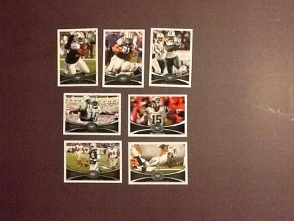 2012 Topps New York Jets Lot