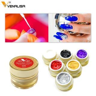 Venalisa painting gel Nail Art uv led 5ml professional nail paint gel polish uv color gel lacquer